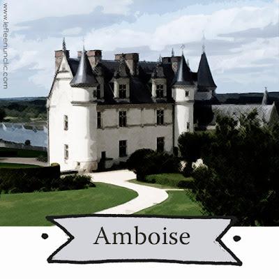 le château d'Amboise, les châteaux de la Loire, FLE, le FLE en un 'clic'