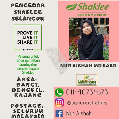 Pengedar Shaklee Dengkil 01140734673
