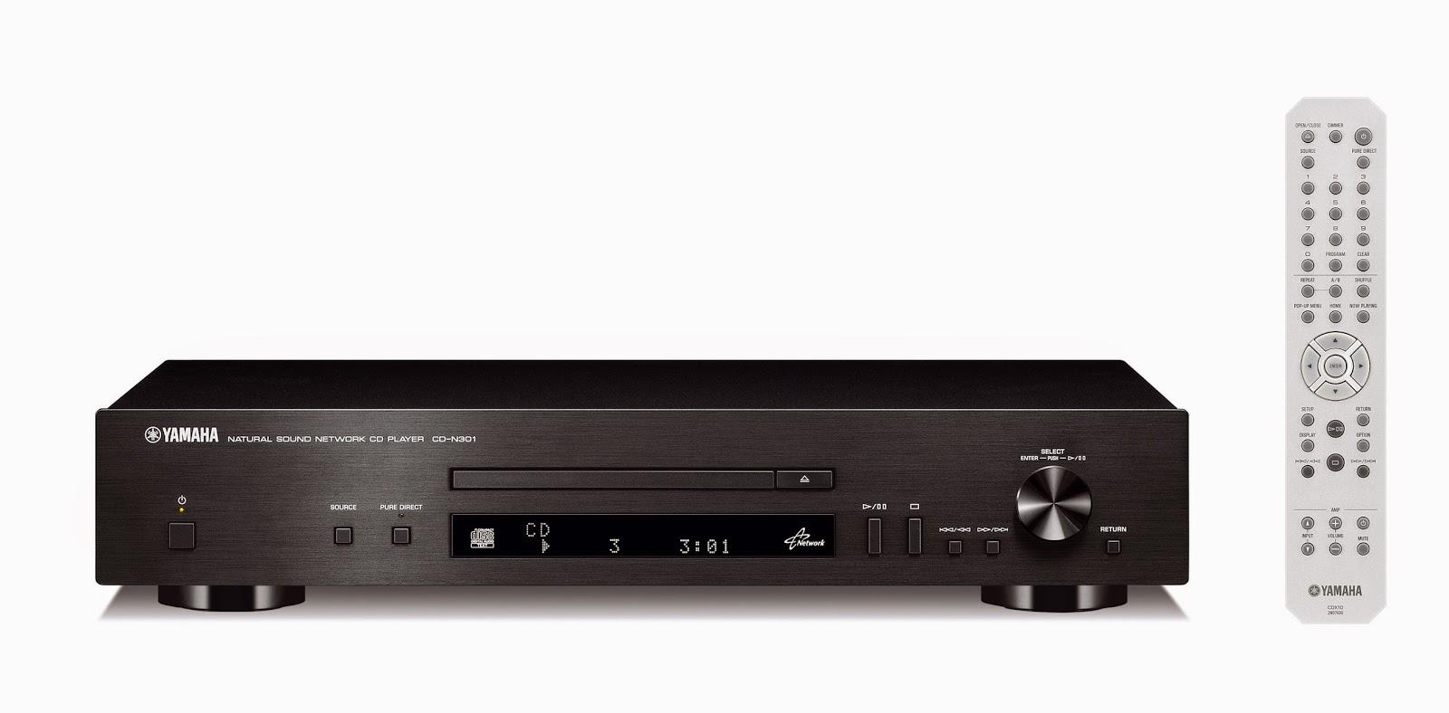 yamaha cd n301 network cd player audiobaza. Black Bedroom Furniture Sets. Home Design Ideas