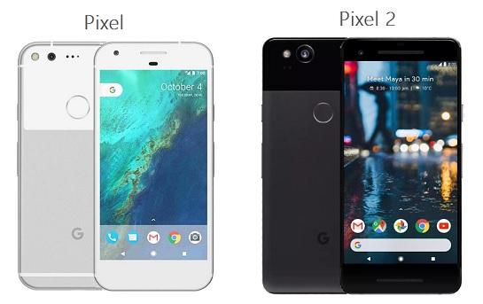 Google Pixel and Pixel 2