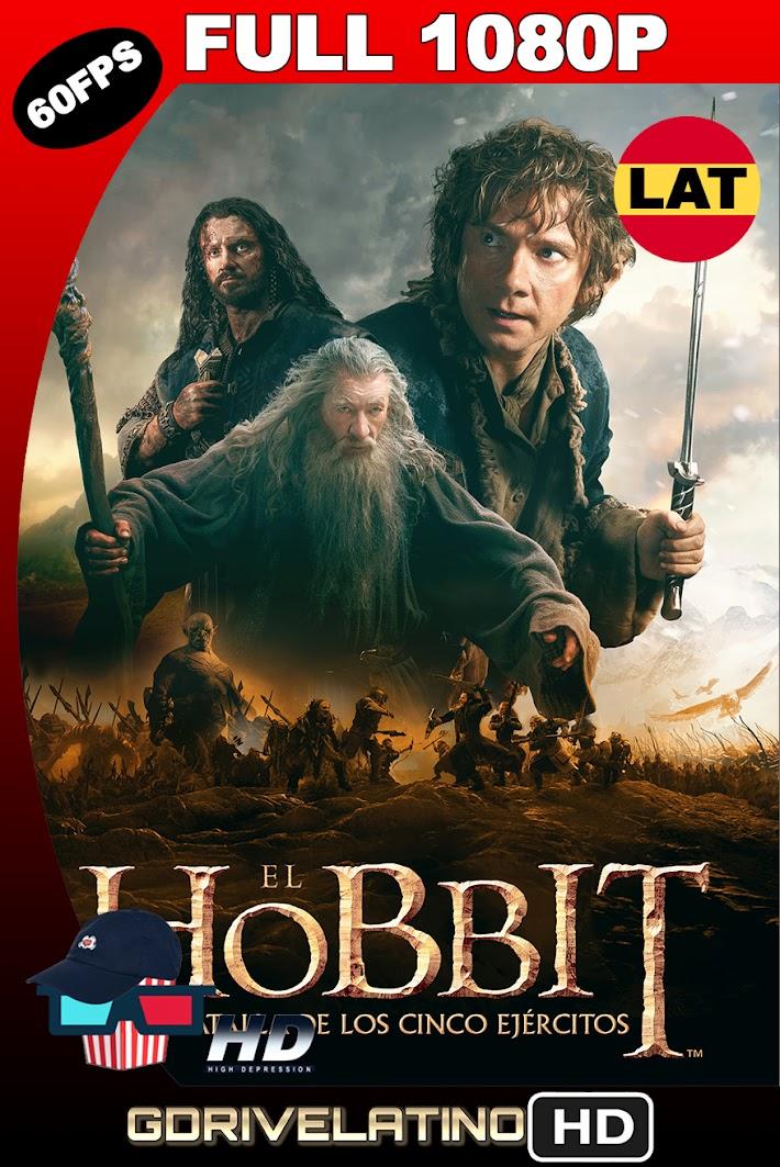El Hobbit : La Batalla de los 5 Ejercitos (2014) EXTENDED EDITION BDRip 1080p (60fps) Latino-Ingles MKV