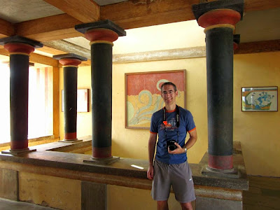 Upper Throne Room in Knossos Palace