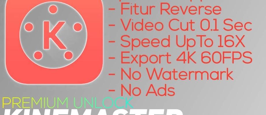 Download Kinemaster v4.11.13 Mod Premium Unlock Apk