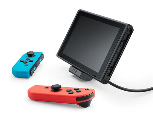 【生活分享】玩家的未知夢魘,任天堂 Switch 真的會變磚嗎? - 原廠配件中的充電支架,感覺也很有插拔風險