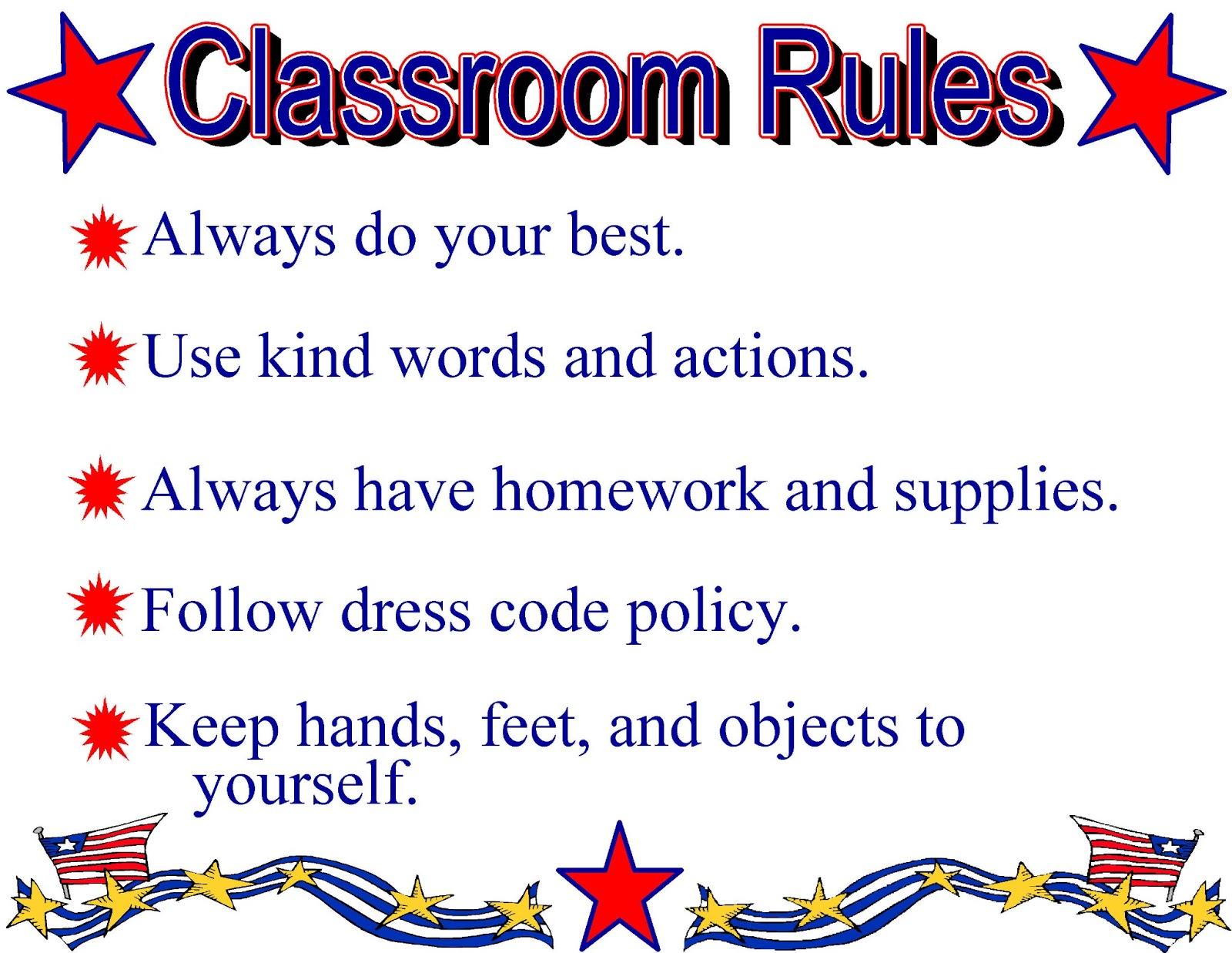 Teacher S911 Let S Talk About Rules