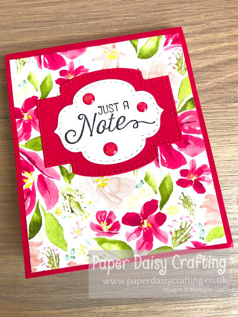 Nigezza Creates with Stampin' Up! & Paper Daisy Crafting Jill & Gez Go Crafting March 30th 2020