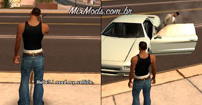 gta sa san mod cleo personal vehicle carro pessoal