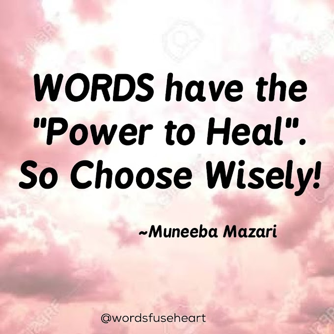 Words Power motivational quotes about words by wordsfuseheart
