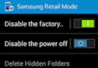 Cara Menghapus Retail Mode On Pada Samsung Galaxy