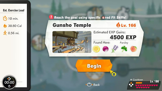 Ring Fit Adventure Gunsho Temple Armando World 22 Land of Hades