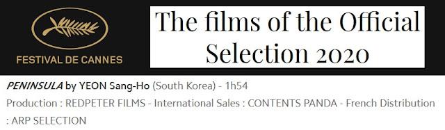 Peninsula - Festival De Cannes Official Selection 2020