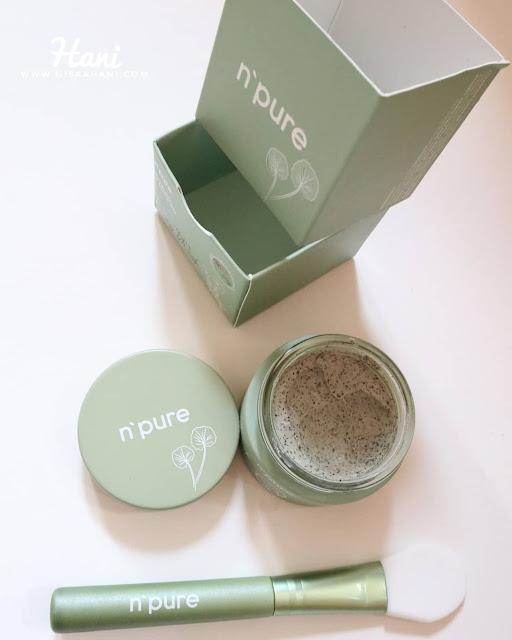 N'PURE-Cica-Chocomint-Clay-Mask