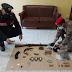 Canosa di Puglia (Bat). Arrestato per la seconda volta, i carabinieri gli trovano droga e armi