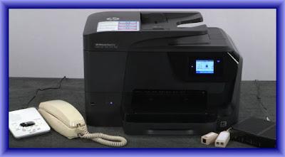 HP Officejet Pro 8710 Setup Fax