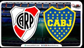 ملخص مباراة بوكا جونيور ضد ريفر بليت مباشرة اليوم في الدوري الأرجنتيني