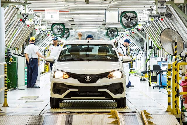 Toyota Etios Brasil