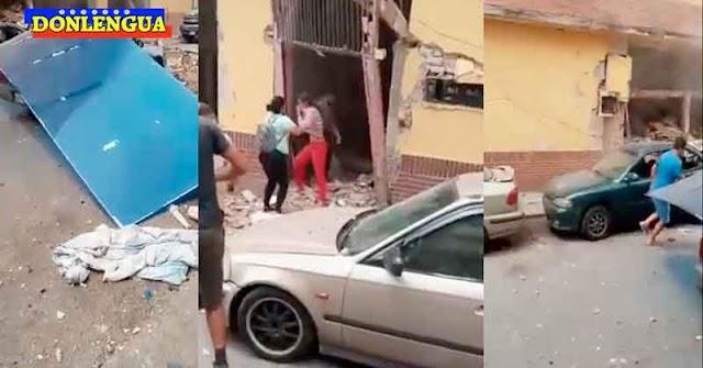 Fuerte explosión en Artigas tumbó una vivienda y dejó varios heridos