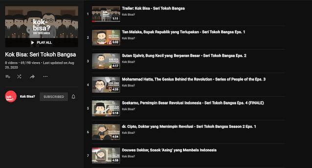 channel youtube kok bisa?