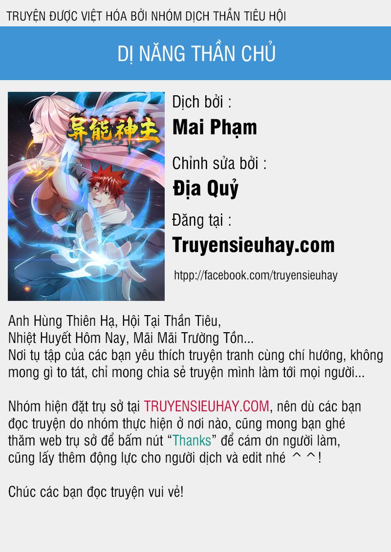 Dị Năng Thần Chủ chapter 53 video - Upload bởi truyensieuhay.com