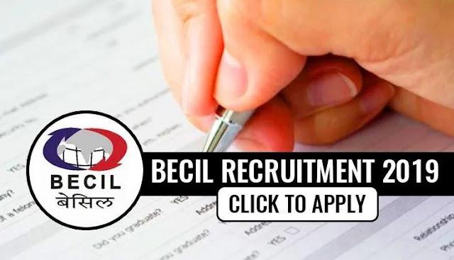 BECIL Recruitment 2019: 8वीं पास के लिए 3,895 पदों पर निकली वैकेंसी, इतनी होगी सैलरी