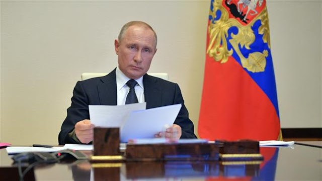 President Vladimir Putin extends Russia's lockdown over coronavirus pandemic for two weeks, prepares to ease in mid-May