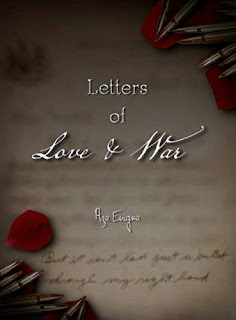 Letters of Love and War: The Tale of Taylor Edwin - a hybrid historical fiction book promotion Aza Enigma