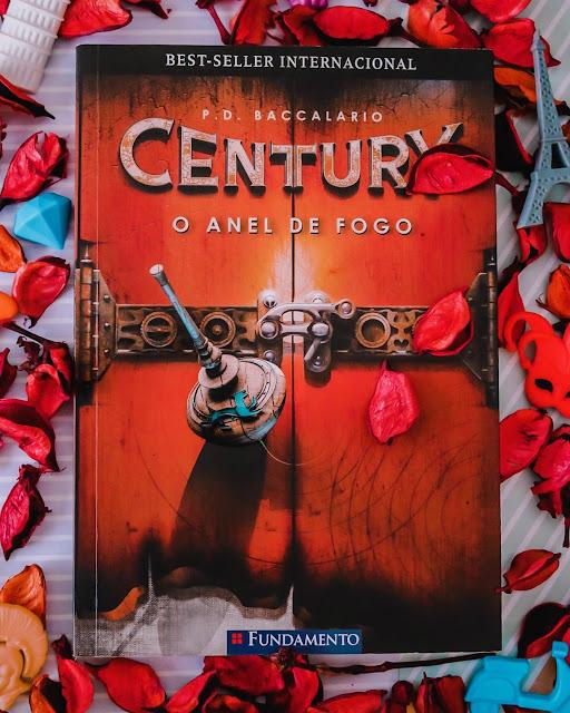 O Anel de Fogo - Century livro 1 - P. D. Baccalario