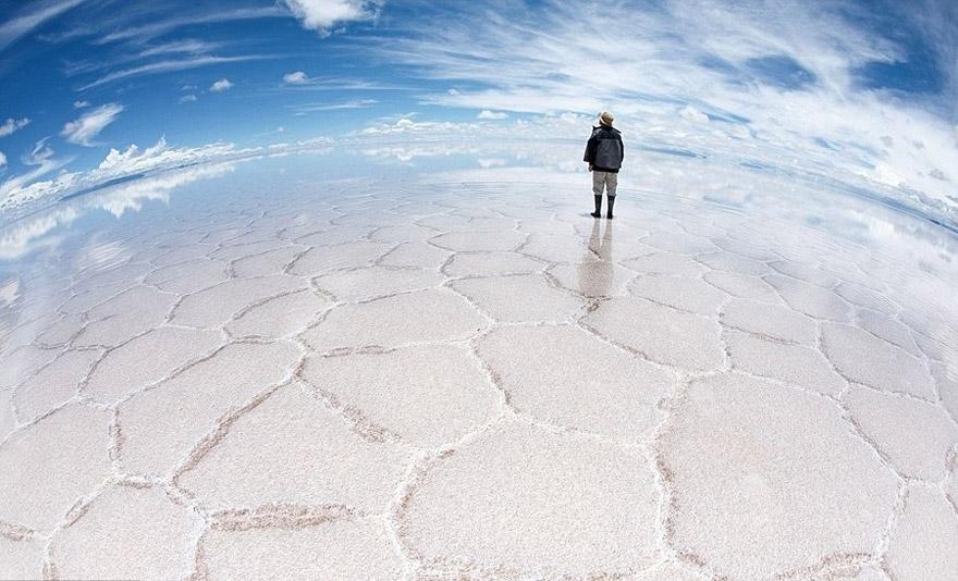 Largest Mirrors,Bolivia Salar de Uyuni