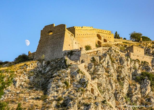 Fortaleza de Palamidi, Nafplio, Grécia