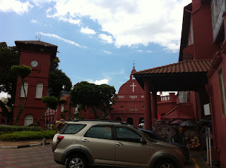 Melaka's Colonial District