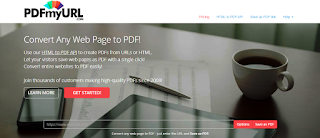How To make PDF from Website