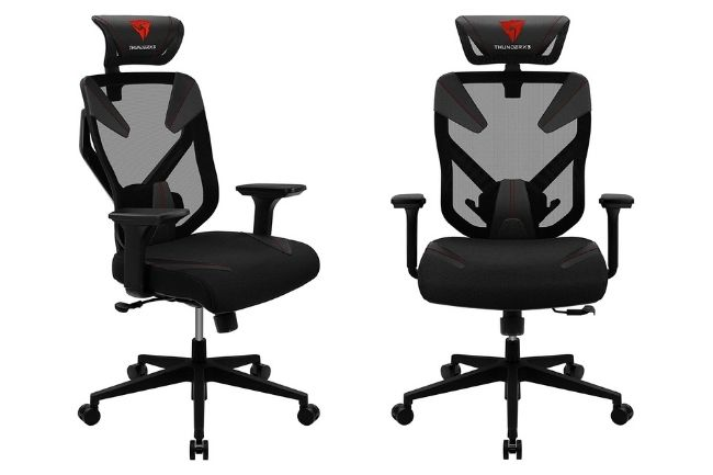 Cadeira ergonômica Yamá 3 PretaVermelha Thunder X3