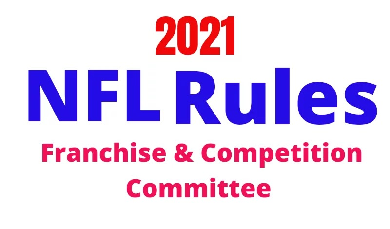 2021 NFL rule change by Competition Committee, Franchise