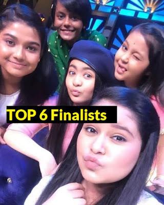 top 6 finalists