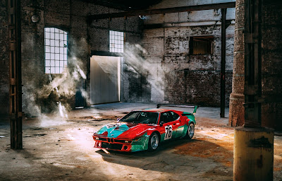 Andy Warhol's BMW Art Car, 1979. Courtesy of BMW Group India