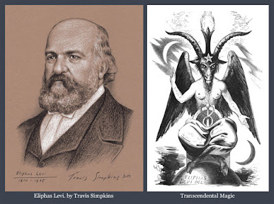 Eliphas Levi. Occult Author. Transcendental Magic. Esoteric Freemasonry. by Travis Simpkins