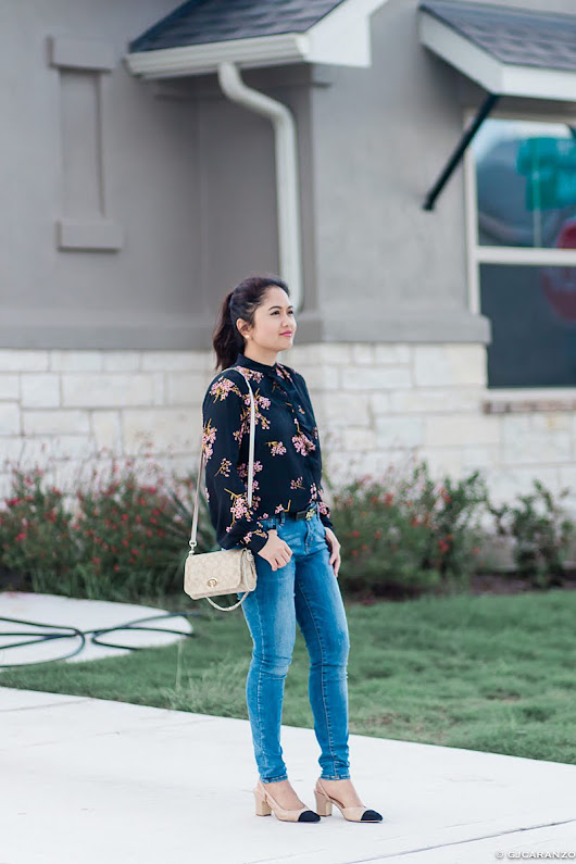 A Glad Diary: Floral Top