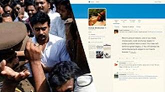 Suriya's condolence message to CM Jayalalitha