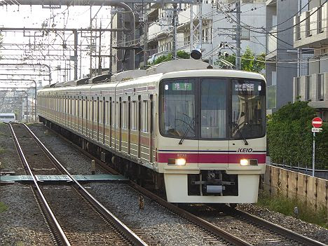 【表示変更!】競馬急行 新線新宿行き8000系新LED(Keio New Line表示が追加)
