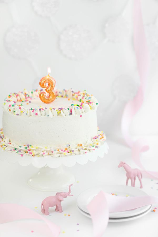 SprinkleBakes Is Three Birthday Cheesecake