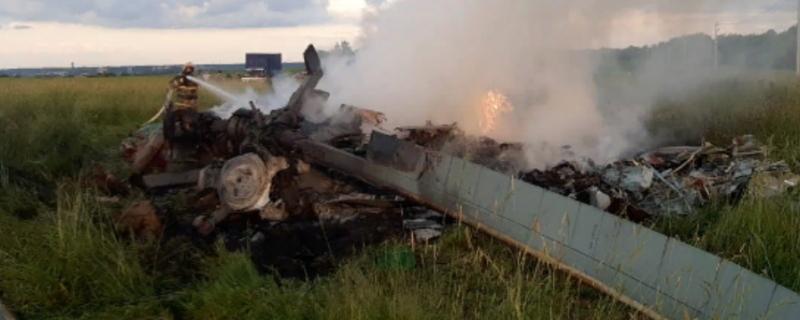 На Росії впав гелікоптер Мі-8 росгвардії – всі загинули
