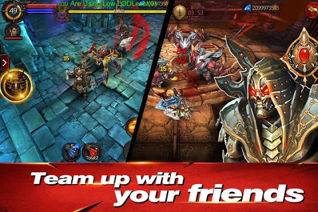 Download Rise of Darkness v1.2.85282 MOD APK+DATA (God Mode + Massive Damage)