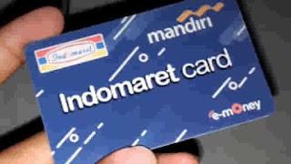 cek saldo e money di indomaret card