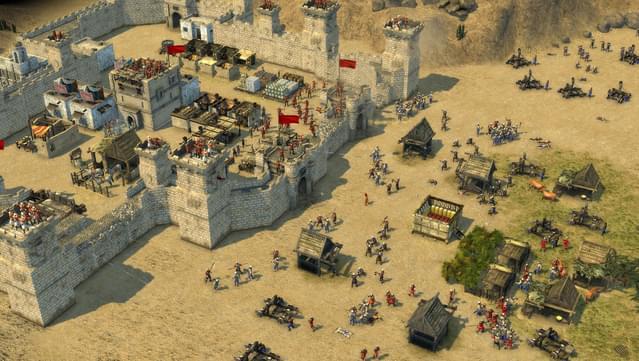 تحميل لعبة Stronghold Crusader - لعبة صلاح الدين الجزء الأول