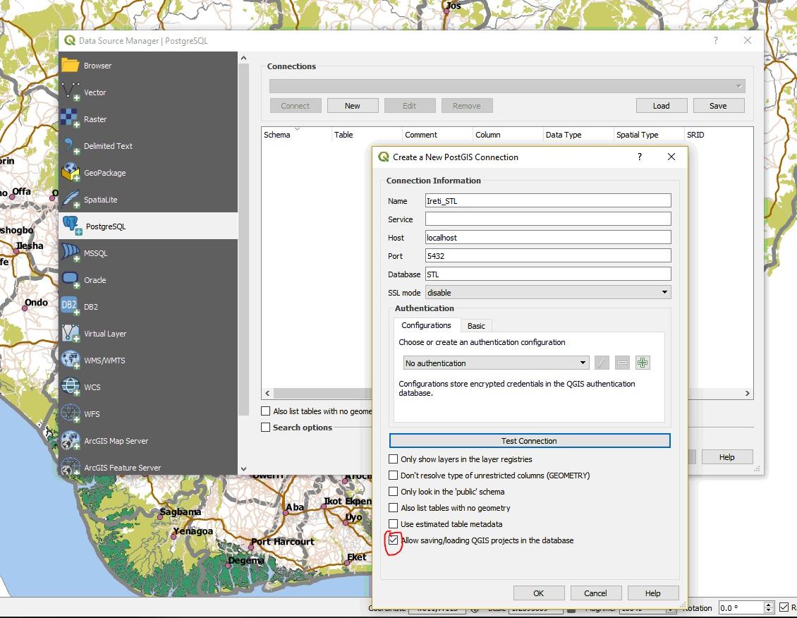 Qgis Data Server