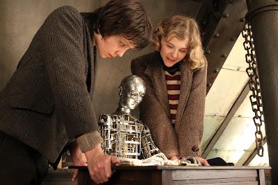 Hugo Chloë Grace Moretz, Asa Butterfield and Automaton