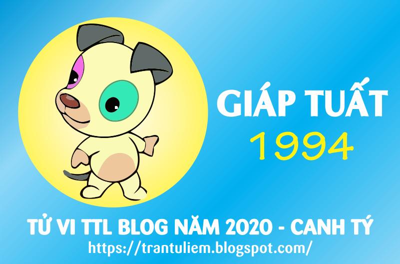 TỬ VI TUỔI GIÁP TUấT 1994 NĂM 2020