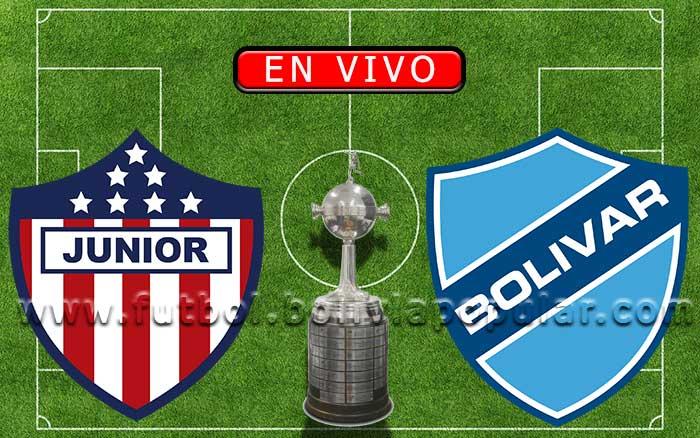 Junior vs. Bolívar 【En Vivo】 - Copa Libertadores 2021