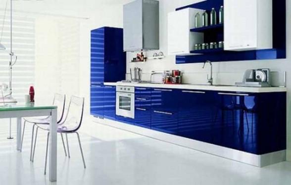 Dua Warna Ini Bukan Sahaja Sering Diterjemahkan Dalam Pemilihan Perabot Hiasan Malah Kabinet Dapur Turut