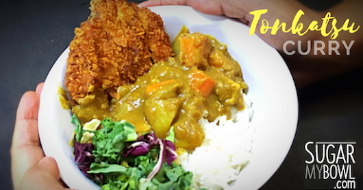 Fast & Easy Japanese Pork (Tonkatsu) Curry